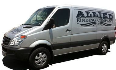 Allied Binding Delivery Van
